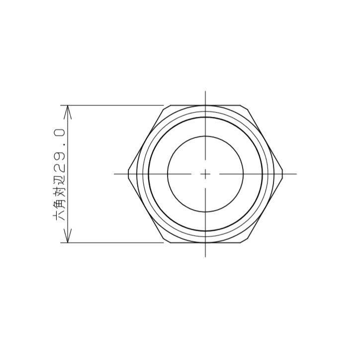 7985-20X350 水道用フレキパイプ ガイドつき